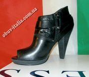 Ботильоны женские кожаные GUESS оригинал Италия