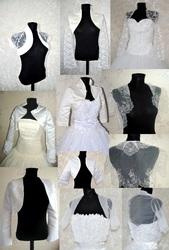 Прокат болеро,   шуб и накидок к свадебным платьям