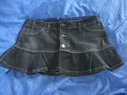 очень классная джинсовая юбочка stradivarium размер 38,  можно больше,