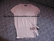 супер классная трикотажная блузка mexx оригинал размер s-m.
