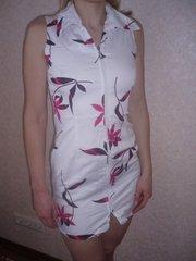 Продам дешево   сарафаны,  блузы  б/у  для девочки-подростка