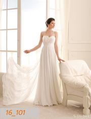 Свадебное платье со шлейфом 1 метр,  размер 44