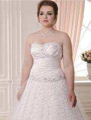 Свадебное платье 48 размера,  новое