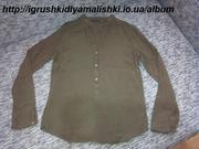 очень классная легкая блузка zara woman размер М.
