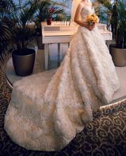 Продаю своё шикарное свадебное платье!