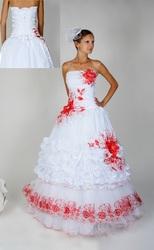 Свадебное платье в Украинском стиле Украинка 021