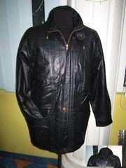 Оригинальная утеплённая мужская куртка М.FLUES. 100% кожа. Лот 51