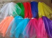 Цветная фата,  для девичника,  вечеринки