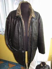 Большая оригинальная мужская,  кожаная куртка  TRAPPER. 58р. Лот 81