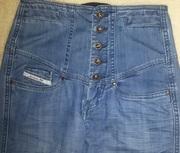 Продам джинсы R.marks jeans с высокой посадкой (завышенной талией).
